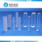 PC acrilico trasparente Rod del policarbonato del bastone