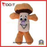Brinquedo Smily do animal de estimação do luxuoso do cogumelo de Catoon
