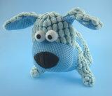 Brinquedo do cão de animal de estimação do luxuoso com Squeaker para dentro