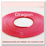 أحمر سبيكة عجلة حاسة مدافع إطار العجلة حارس [بفك] قولبة تركيب خدش حماية