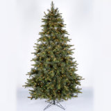 LED 가벼운 비행 눈 수정같은 인공적인 PVC 크리스마스 나무