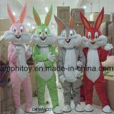 Costume della mascotte della peluche del fumetto del Bugs Bunny