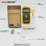 Термометр Peakmeter Pm6501 цифровой для стоградусного и Fahrenheit