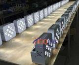 Rgbwauv Batterie drahtloser LED NENNWERT DJ beleuchten