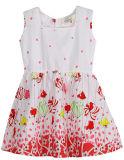 Vestido de la flor de la manera en la ropa del vestido de los niños con Apprael Sqd-149