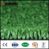 Hierba artificial del campo de fútbol de los precios bajos con la prueba incombustible