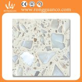 Mattonelle di pavimento di marmo artificiali di marmo naturali del grande fiore (RB101T)