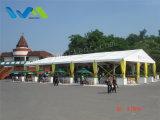 tenda di riparo impermeabile di lusso di 15X35m per la cerimonia nuziale, eventi del banco