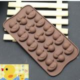 Шоколад кремния Kitchenware способа отливает профессиональное изготовление в форму