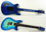 Клен пламени тела свода Blueburst электрической гитары типа Prs Aiersi установленный внутри