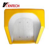 Cabine de telefone acústica da cabine de telefone público de Kntech RF-16, capa à prova de intempéries do telefone