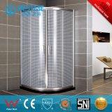 Deslizando o chuveiro Stainless-Steel Canbin do vidro Tempered (BL-F3012)