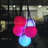 Bola multicolora del Poi de la luz que contellea de la fiesta de Navidad LED (3560)