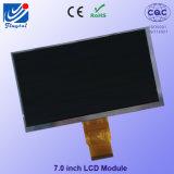 """7 de """" Vertoning van TFT LCD met (RGB) X480 Resolutie 800 60 Spelden"""