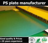 Vários tipos de placas Offset e de materiais da impressão