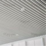 ألومنيوم مجوّف قسم حاجز سقف خطّيّ مع نمط تصميم