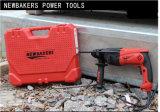 Roterende Hamer van de Hulpmiddelen van de Macht van de Boor van de Boor van het koord de Elektrische (GBK2-26ES)