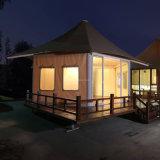 Hôtel ignifuge de tente de prix usine avec la bonne qualité