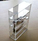 Étalage acrylique Btr-E1044 de lunetterie d'étalage en verre de meubles