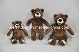 Grande orso grasso dell'orsacchiotto della peluche con materiale molle