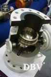 Valvola a sfera messa metallo dell'acciaio di pezzo fuso di Pheumatic Wcb