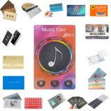 Cartão passivo da bagagem de RFID com a microplaqueta Higgs3 estrangeira