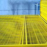 Acoplamiento de alambre soldado cubierto PVC colorido