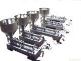 Única máquina de enchimento manual semiautomática do bocal para o creme/pomada/pasta