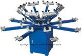 8 imprimante manuelle Spm850 d'écran de carrousel de T-shirt de station de la couleur 8