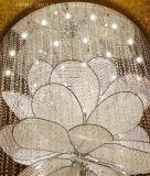 Lámpara lujosa del techo de Phine con el cristal para el hotel y el restaurante