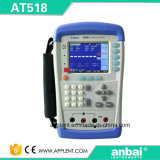 10micro 옴 200k 옴 저항 범위 (AT518L)를 가진 Applent 저항전류계