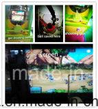 De hete Machine die van het Spel van de Arcade van de Verkoop Zombies V.S Zombies Karton Eerlijke Hete Sale Installaties V. ontspruiten Machine van het Spel van de Kaartjes van de Kras van de Loterij van de Mens van S. Zombies de Ice Bevroren