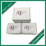 장식적인 물결 모양 판지 상자 수송용 포장 상자