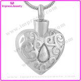 De Tegenhanger van het Hart van de Juwelen van de Urn van de crematie met Waterdrop Ijd9719
