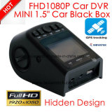 "Hidden Car DVR 1,5 ""Car Black Box Construído em Full HD1080p Car Digital Video Recorder Wth G-Sensor, WDR, 5.0m Car Camera DVR-1510"