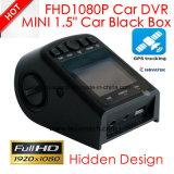 """G-Sensor cheio escondido do traço DVR Wth do carro do projeto 1.5 """" HD1080p, WDR, câmera DVR-1510 do carro 5.0mega"""