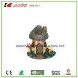 ホームおよび庭の装飾のための新しい妖精のミニチュア庭のきのこの家の彫像