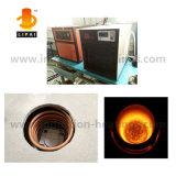 Fornalha de derretimento Integrated de derretimento do aquecimento de indução da platina do ouro com refrigerador