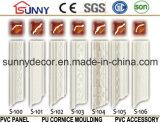 Decoración para el Hogar Espuma de Poliuretano Corona Molding / PU Cornice