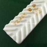 Kundenspezifisches weißes Belüftung-Herringbone Muster-Förderband