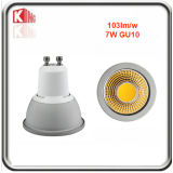 ETL Es Ce RoHS regulable 7W GU10 LED