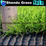 Doppelter Schutzträger-haltbares synthetisches Gras 20mm für Balkon