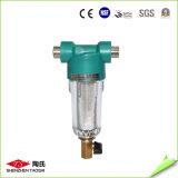 Contre- premier épurateur de filtre d'eau d'étape simple