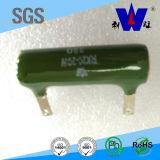 Resistor de cerámica del poder más elevado, resistores Wirewound del tubo, resistor del esmalte Rx20,
