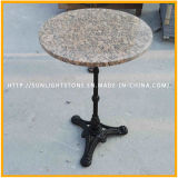 Mesa de café moderna da mesinha de mármore da pedra de mármore da pérola de granito azul