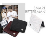 最新の製品創造的なデザイン革女性の札入れの財布