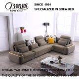 Sofá de la tela de la pelusa de la sala de estar del diseño moderno para los muebles del dormitorio del hotel - Fb1126