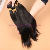 8A等級のインドのバージンの毛のまっすぐな人間の毛髪の拡張毛の編む毛のよこ糸
