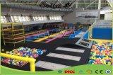 Park van de Trampoline van het Vermaak van de Apparatuur van de Geschiktheid van de fabriek het Binnen voor Kinderen