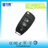 Control remoto inalámbrico RF con llave giratoria para bloqueo de la puerta del coche